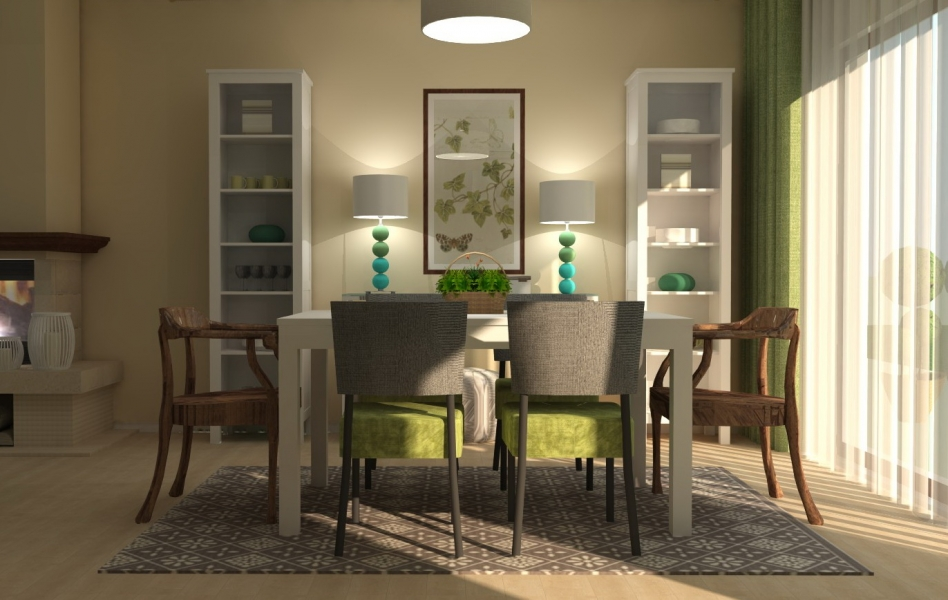 green-grass-turquoise-dining