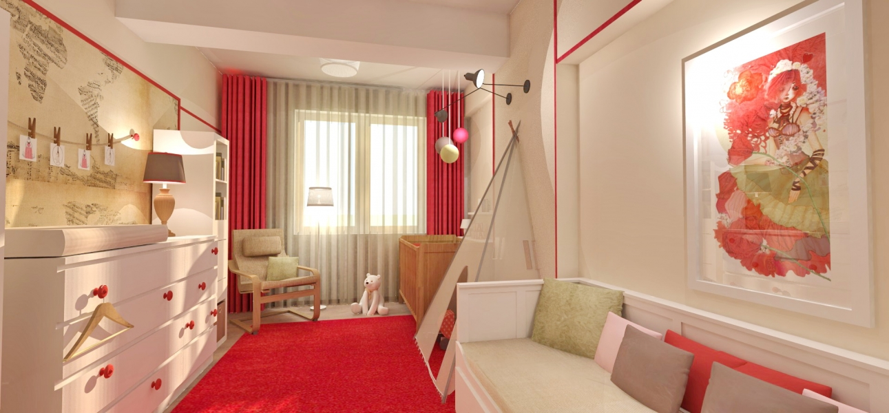 red-and-white-baby-room
