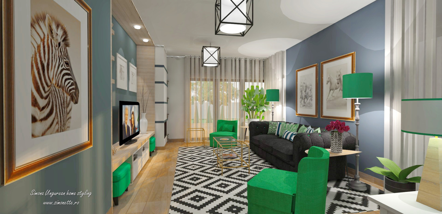 simona-ungurean-green-and-blue-living-room