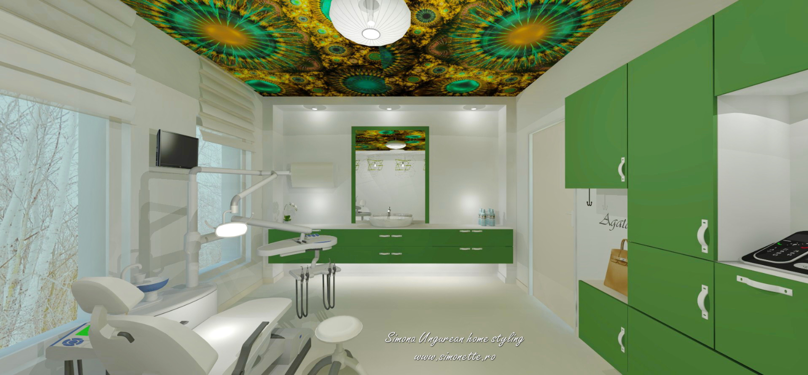 simona-ungurean-homestyling-dental-office-verde-smarald-stomatologie